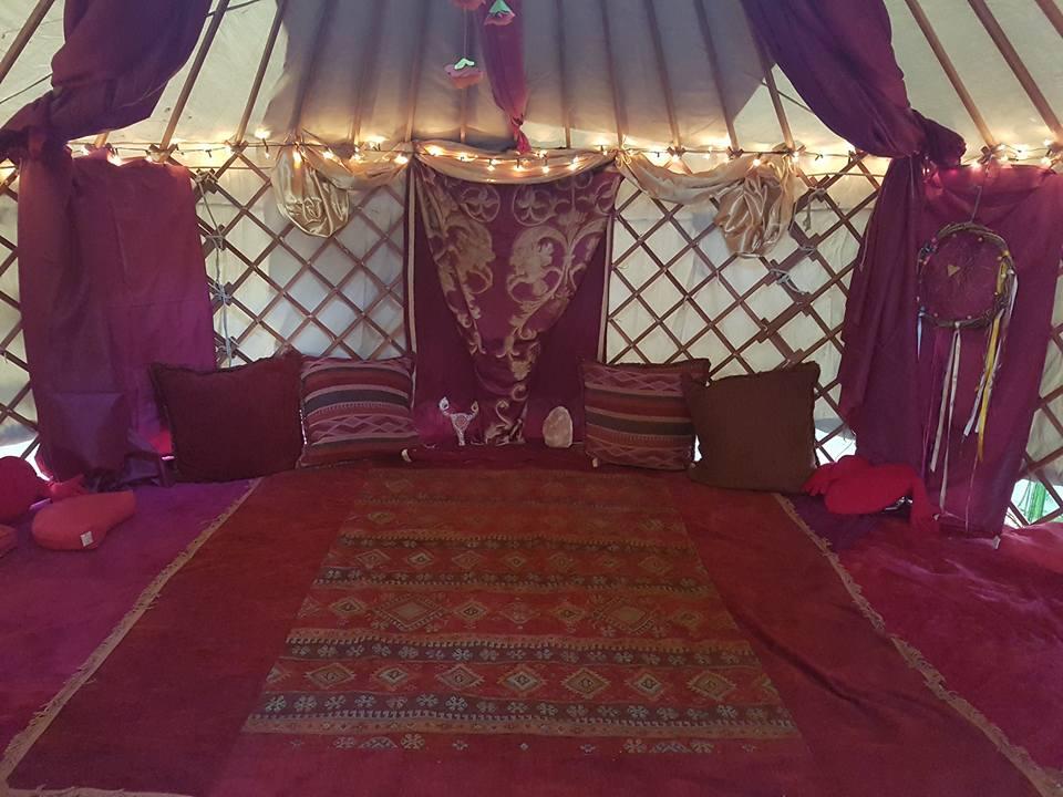 Kápolna kert - jurta